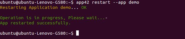 app42paas_restart