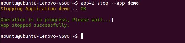 app42paas_stop
